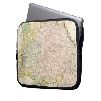 Vintage Map of Bavaria Germany 1814 Laptop Computer Sleeve