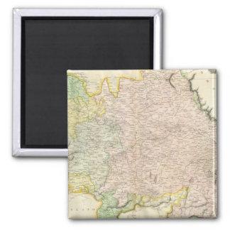 Vintage Map of Bavaria Germany 1814 Magnet