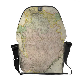 Vintage Map of Bavaria Germany 1814 Courier Bags