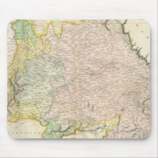 Vintage Map of Bavaria Germany (1814) Mouse Pad