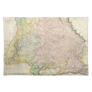Vintage Map of Bavaria Germany 1814 Placemats