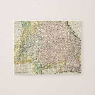 Vintage Map of Bavaria Germany 1814 Jigsaw Puzzle