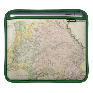 Vintage Map of Bavaria Germany (1814) Sleeve For iPads