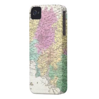 Vintage Map of Belgium (1827) iPhone 4 Cases