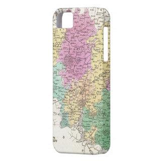 Vintage Map of Belgium (1827) iPhone 5 Cases
