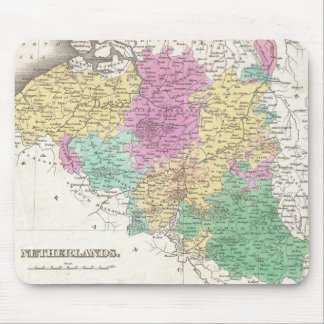 Vintage Map of Belgium (1827) Mouse Pad