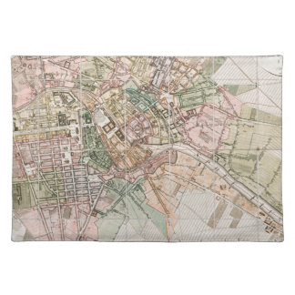 Vintage Map of Berlin (1811) Cloth Placemat
