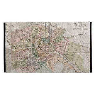 Vintage Map of Berlin (1811) iPad Folio Case
