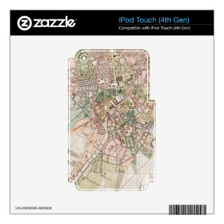 Vintage Map of Berlin (1811) iPod Touch 4G Decals