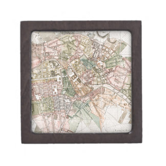 Vintage Map of Berlin (1811) Jewelry Box