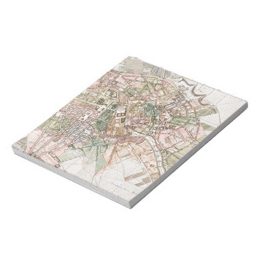 Vintage Map of Berlin (1811) Note Pads
