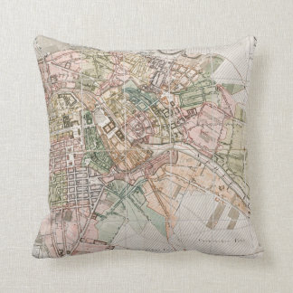 Vintage Map of Berlin (1811) Pillow