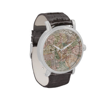 Vintage Map of Berlin (1811) Wrist Watches