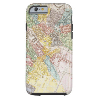 Vintage Map of Berlin (1846) Tough iPhone 6 Case