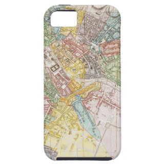 Vintage Map of Berlin (1846) iPhone 5 Covers