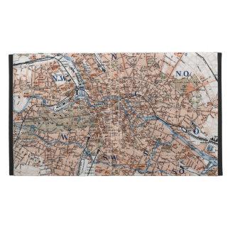 Vintage Map of Berlin Germany (1894) iPad Folio Case