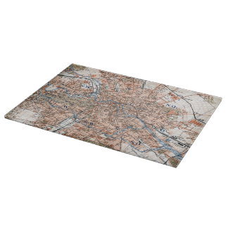Vintage Map of Berlin Germany (1894) Cutting Board
