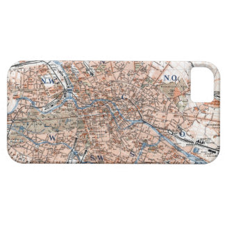 Vintage Map of Berlin Germany (1894) iPhone SE/5/5s Case