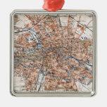 Vintage Map of Berlin Germany (1894) Ornament