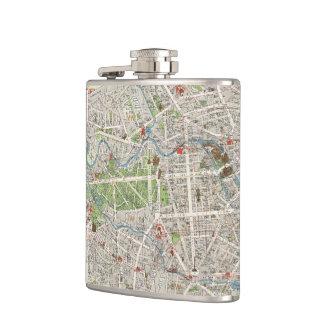 Vintage Map of Berlin Germany (1905) Flasks