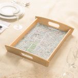 Vintage Map of Berlin Germany (1905) Serving Trays