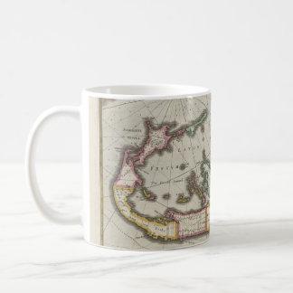 Vintage Map of Bermuda (1638) Coffee Mug