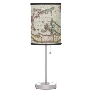 Vintage Map of Bermuda (1638) Desk Lamp