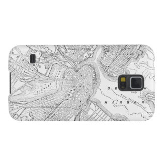 Vintage Map of Boston (1878) Galaxy S5 Cover
