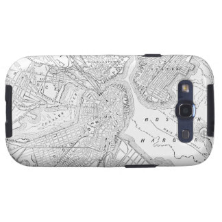 Vintage Map of Boston (1878) Galaxy SIII Cover