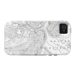 Vintage Map of Boston (1878) Vibe iPhone 4 Case