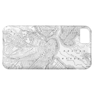 Vintage Map of Boston (1878) iPhone 5C Covers