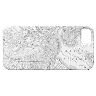 Vintage Map of Boston (1878) iPhone SE/5/5s Case
