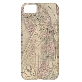 Vintage Map of Boston (1880) iPhone 5C Cover