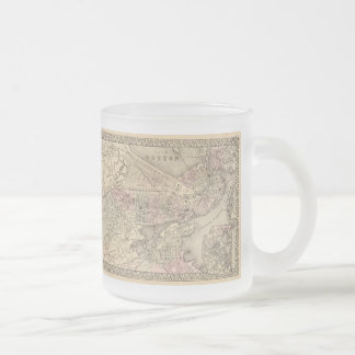 Vintage Map of Boston (1880) Coffee Mug