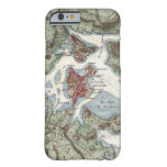 Vintage Map of Boston Harbor (1807) Barely There iPhone 6 Case