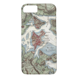Vintage Map of Boston Harbor (1807) iPhone 8/7 Case