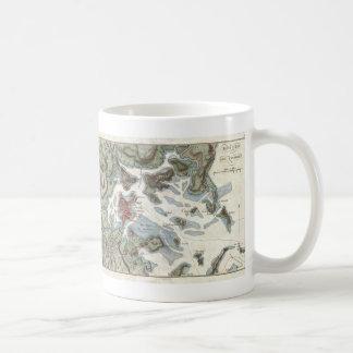 Vintage Map of Boston Harbor (1807) Classic White Coffee Mug