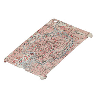 Vintage Map of Braunschweig Germany (1905) iPad Mini Cases