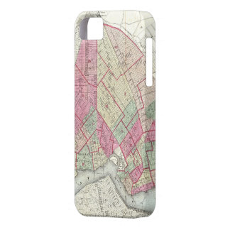 Vintage Map of Brooklyn (1868) iPhone SE/5/5s Case