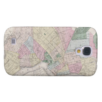 Vintage Map of Brooklyn (1873) Samsung Galaxy S4 Cover