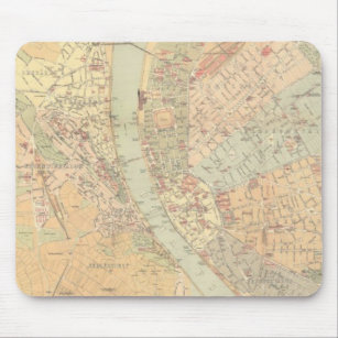 Vintage Budapest Map Gifts On Zazzle - Vintage budapest map