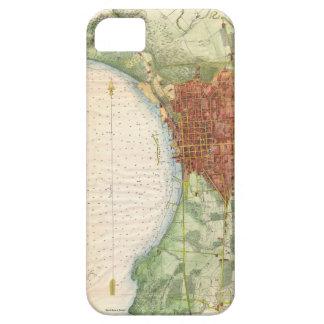 Vintage Map of Burlington Vermont (1763) iPhone SE/5/5s Case