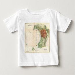Vintage Map of Burlington Vermont (1872) Baby T-Shirt