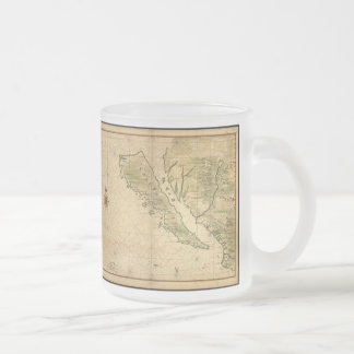Vintage Map of California (1650) Mug