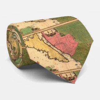 Vintage Map of California (1720) Tie