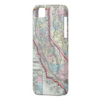 Vintage Map of California (1860) iPhone 5 Covers