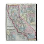 Vintage Map of California (1860) iPad Folio Case