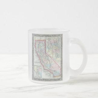 Vintage Map of California (1860) Mugs