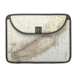 Vintage Map of California (1878) Sleeves For MacBook Pro