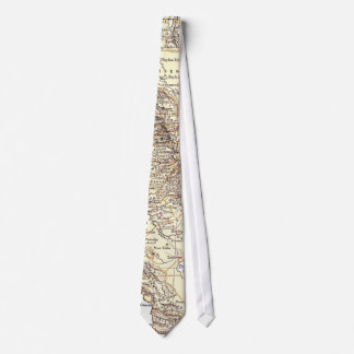 Vintage Map of California (1878) Neck Tie